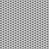 Seamless pattern. Geometric floral background. Stock Photography
