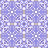 Pattern. Seamless pattern with geometric and floral ornaments, tribal, ethnic,  boho style. Tile repeat Royalty Free Stock Images