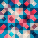 Seamless pattern with geometric ornament. Abstract background. Vector illustration. Pattern for the wrapping, home decor, website, brochures and presentations Royalty Free Stock Images