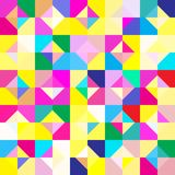 Seamless pattern with geometric ornament. Abstract background. Vector illustration. Pattern for the wrapping, home decor, website, brochures and presentations Stock Photography
