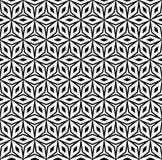 Seamless pattern, geometric ornamental texture Royalty Free Stock Photography
