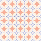 Seamless pattern, geometric pattern, abstract, rounds pattern. Modern stylish texture, pattern with blue and pink ornament Stock Photography