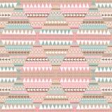 Seamless pattern, geometric pattern stock illustration