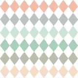 Seamless pattern with geometric rhombuses texture Stock Photo
