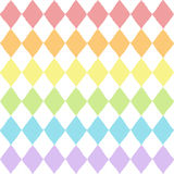 Seamless pattern with geometric rhombuses texture Stock Photos