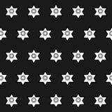 Seamless pattern of geometric shapes on a dark backgroun. Seamless pattern of geometric shapes Stock Photos