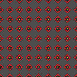 Seamless pattern of geometric shapes on a dark background. Seamless pattern of geometric shapes Royalty Free Illustration