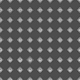 Seamless pattern of geometric shapes on a dark background. Seamless pattern of geometric shapes Royalty Free Stock Images
