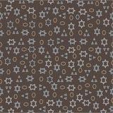 Seamless pattern of geometric shapes on a dark background. Seamless pattern of geometric shapes Royalty Free Stock Photos