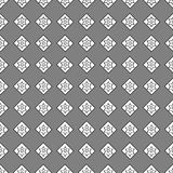 Seamless pattern of geometric shapes on a grey background. Seamless pattern of geometric shapes Stock Photo