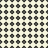 Seamless pattern of geometric shapes on a light background. Seamless pattern of geometric shapes Royalty Free Illustration