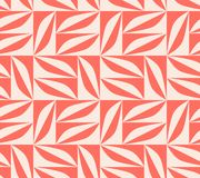 Seamless pattern with geometric shapes in retro scandinavian style. Vector illustration royalty free illustration