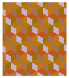 Seamless pattern of geometric shapes Stock Photos