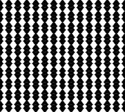 Seamless pattern with geometric shapes and symbols Stock Images