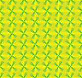 Seamless pattern with geometric shapes and symbols on. A colored background Vector Illustration