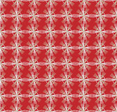 Seamless pattern with geometric shapes and symbols. On a colored background Royalty Free Illustration