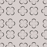 Seamless pattern with geometric shapes and symbols. Vector texture or background pattern Royalty Free Illustration