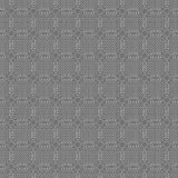 Seamless pattern with geometric shapes and symbols. Vector texture or background pattern Stock Illustration