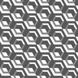 Seamless pattern with geometric shapes and symbols. Vector texture or background pattern Royalty Free Stock Image
