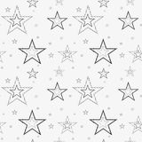 Seamless pattern with geometric shapes and symbols. Vector texture or background pattern Stock Photography