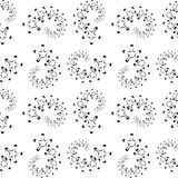 Seamless pattern with geometric shapes and symbols. Vector texture or background pattern Stock Photo