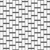 Seamless pattern with geometric shapes and symbols Stock Photos