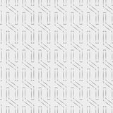 Seamless pattern with geometric shapes and symbols. Vector texture or background pattern Royalty Free Stock Photos
