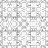 Seamless pattern with geometric shapes and symbols Royalty Free Stock Images