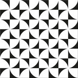Seamless pattern with geometric shapes and symbols Royalty Free Stock Image