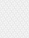 Seamless pattern with geometric shapes and symbols Royalty Free Stock Photo