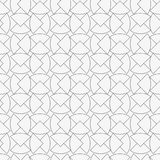 Seamless pattern with geometric shapes and symbols. Vector texture or background pattern Stock Images