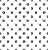 Seamless pattern of geometric shapes and tracery. On a white background Vector Illustration