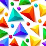 Seamless pattern. Seamless geometric pattern, simple element design stock illustration