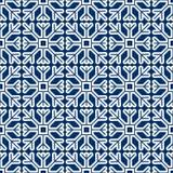 Seamless pattern of geometric snowflake. square snowflakes. Vector Eps-10. Seamless pattern of geometric snowflake. square snowflakes. Vector illustration Stock Photo