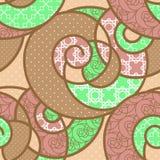 Seamless pattern geometric stylish background retro colors textu Stock Image