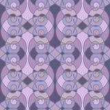 Seamless pattern geometric stylish background retro colors textu Stock Images