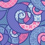 Seamless pattern geometric stylish background retro texture Royalty Free Stock Image