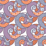 Seamless pattern geometric stylish background retro texture Stock Images