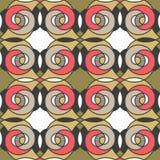 Seamless pattern geometric stylish background retro texture Stock Photo