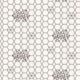 Seamless pattern. Geometric texture Stock Image