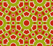 Seamless pattern geometric  texture . Royalty Free Stock Images