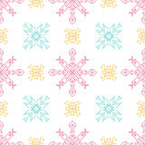 Seamless pattern. Geometric vector background. Abstract seamless pattern Stock Photo