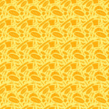 Seamless pattern. Seamless geometric pattern, yellow element design stock illustration