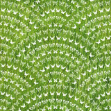 Seamless pattern with geometrical layout Stock Photography