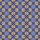 Seamless pattern with geometrical motif Stock Photography