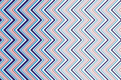 Geometrical and checkered background. Seamless pattern with geometrical on striped and checkered colorful background Stock Photo