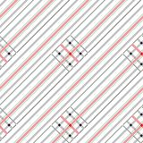 Geometrical and checkered background Stock Photos