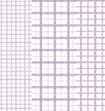 Geometrical and checkered background. Seamless pattern with geometrical on striped and checkered colorful background Stock Images