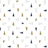 Perfect graphical seamless pattern. Geometrical texture Royalty Free Stock Image