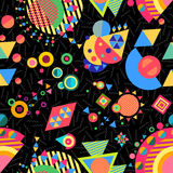 Seamless pattern geometry background colorful Royalty Free Stock Image